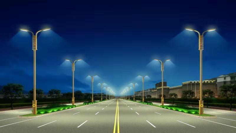 小区路灯标准间距相隔多少?